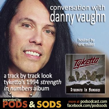 Danny Vaughn of Tyketto
