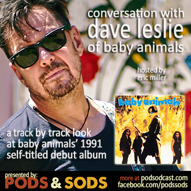 Dave Leslie of Baby Animals