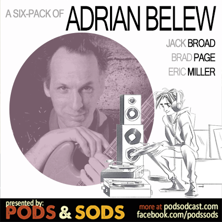 Six-Pack of Adrian Belew, Volume One