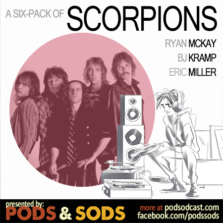 Six-Pack of Scorpions, Volume One