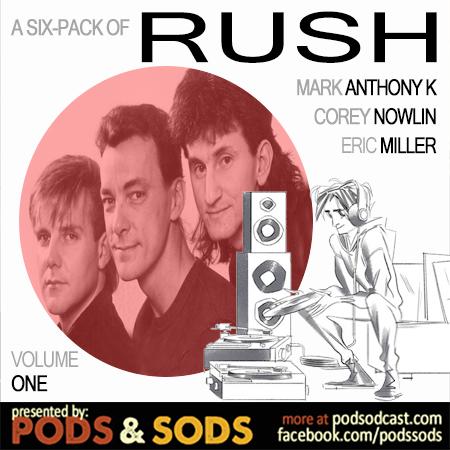 Six-Pack of Rush, Volume One