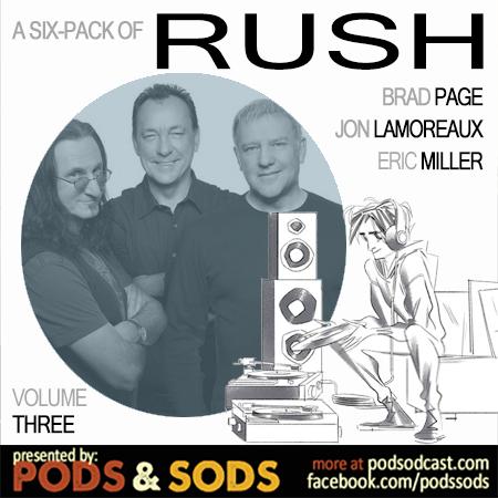 Six-Pack of Rush, Volume Three
